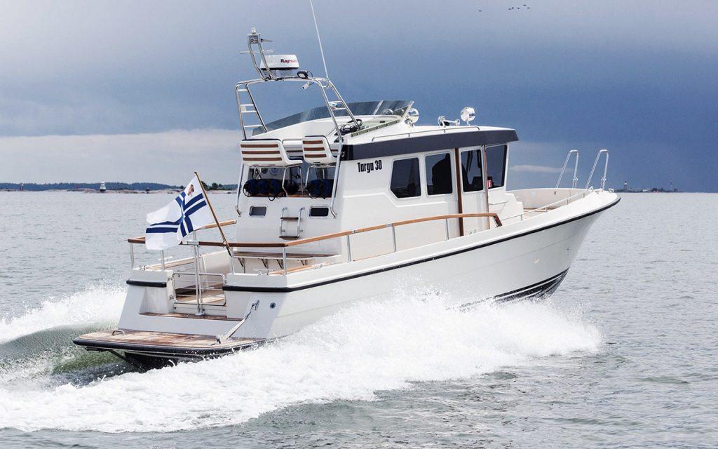 Targa 30.1 båtmodell