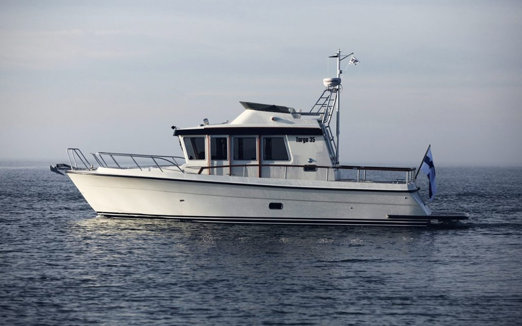 Targa 35 båtmodell