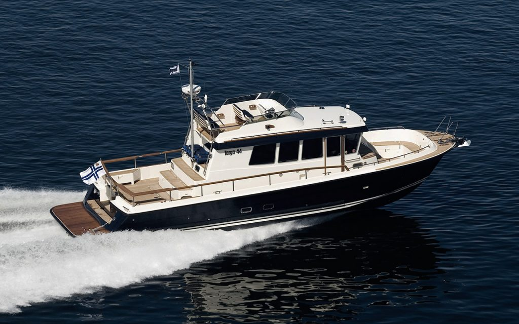 Targa 44 båtmodell