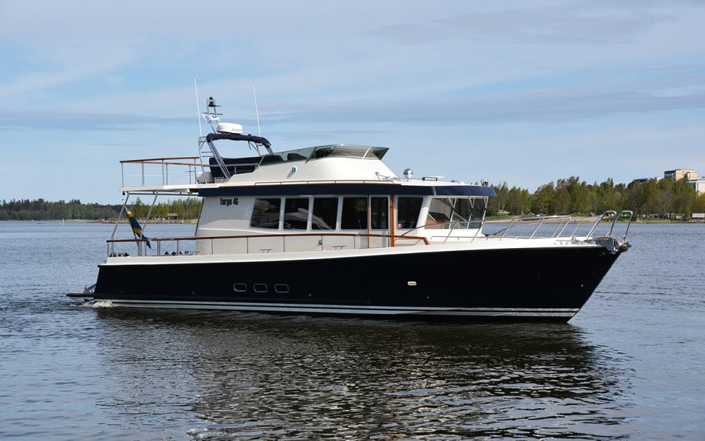 Targa 46 båtmodell